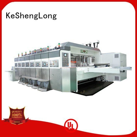 control HD flexo printer slotter fixed movable KeShengLong