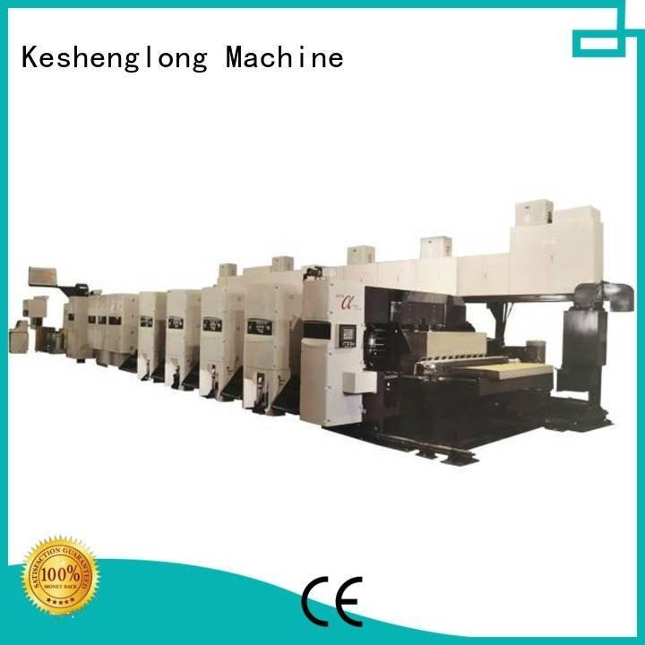 flexo printer slotter 3 color Folder printer gluer KeShengLong