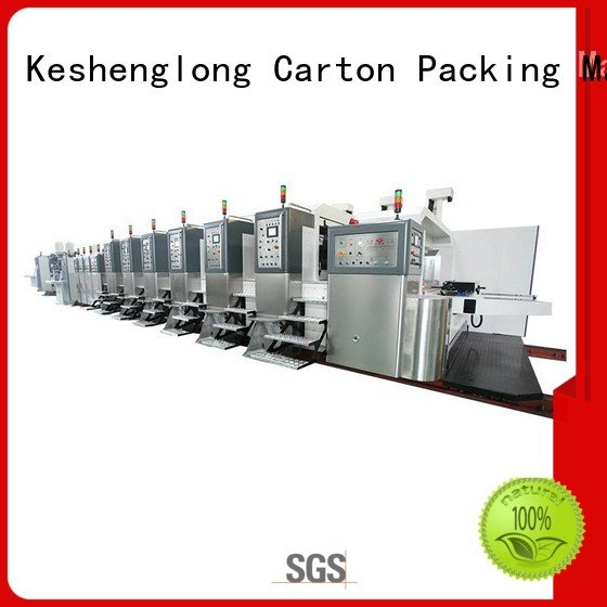 Hot China hd flexo k7 HD flexo printer slotter k6 KeShengLong
