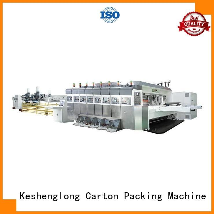inline HD flexo printer slotter KeShengLong China hd flexo