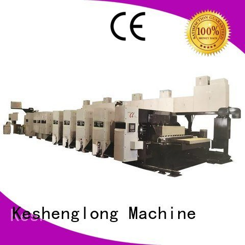 KeShengLong Brand inline flexo printer slotter Carton printer