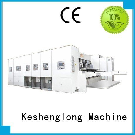 six color three color slotting flexo printing and die cutting machine KeShengLong