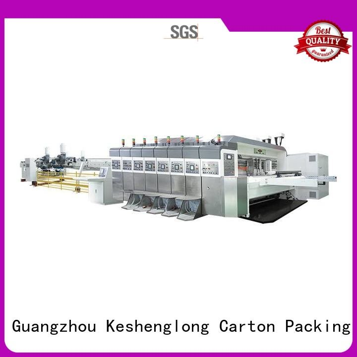 China hd flexo control HD flexo printer slotter folding KeShengLong