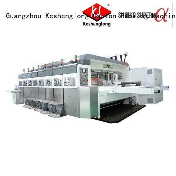 Hot China hd flexo control folding fixed KeShengLong Brand