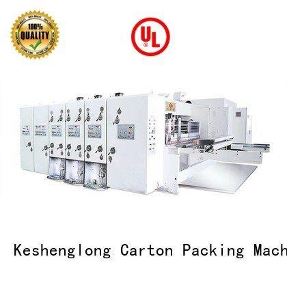KeShengLong flexo printing and die cutting machine k1 flexo cutting die
