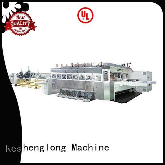 gluing top automatic KeShengLong HD flexo printer slotter