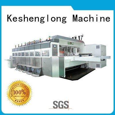 Wholesale die ejecting HD flexo printer slotter KeShengLong Brand