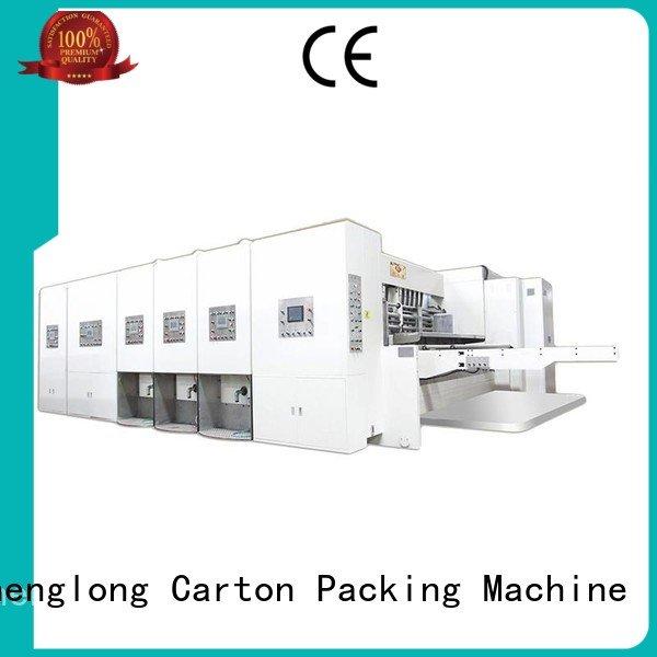 OEM automatic printing slotting die cutting machine flexo computerized flexo printing and die cutting machine