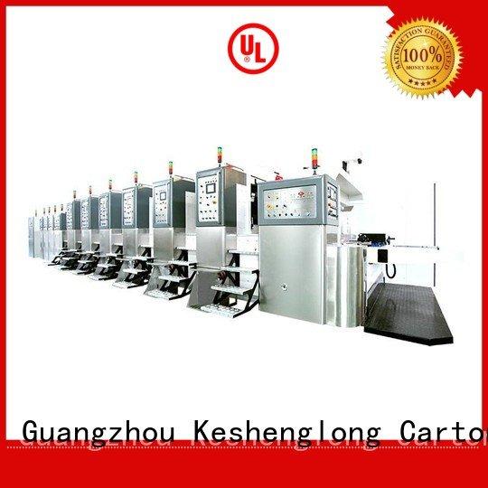 China hd flexo cutting HD flexo printer slotter folding KeShengLong