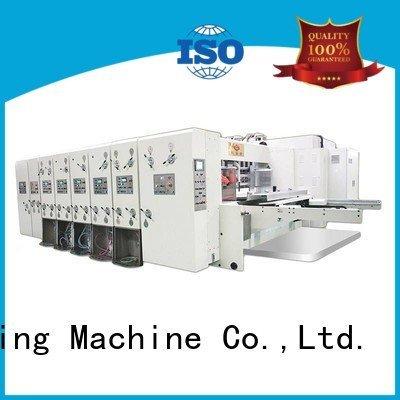 flexo printing and die cutting machine six color jumbo die cutting