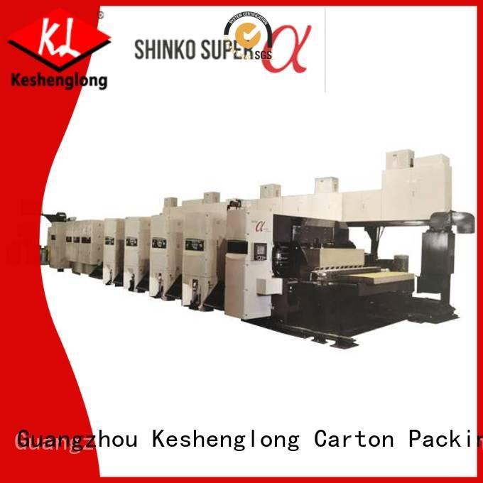 Hot flexo printer slotter inline flexo printer slotter machine printer KeShengLong