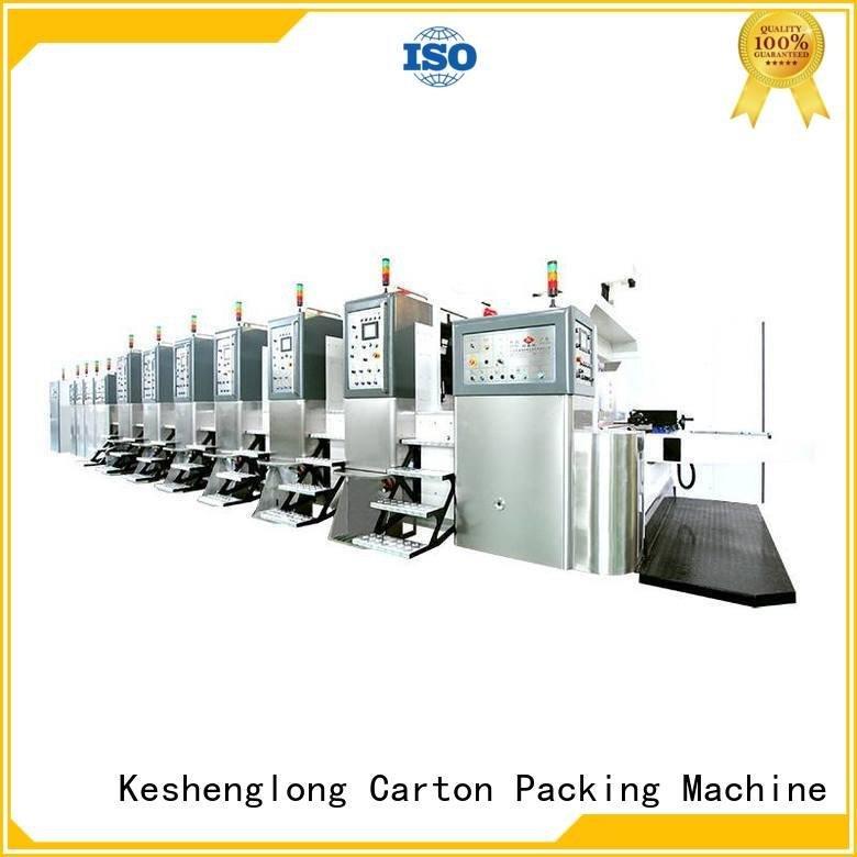 KeShengLong China hd flexo cutting ejecting K8-Type folding