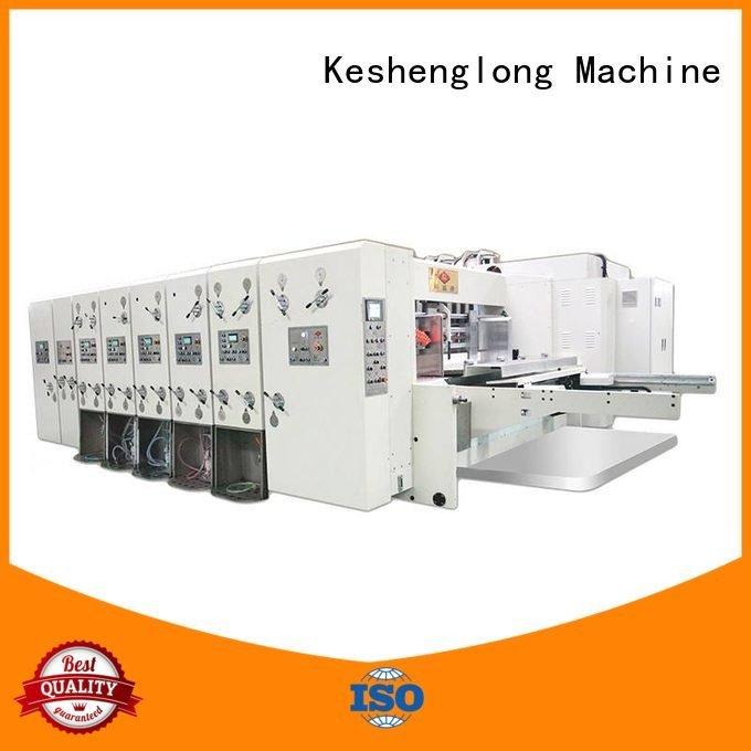 flexo printing and die cutting machine machine automatic printing slotting die cutting machine slotting