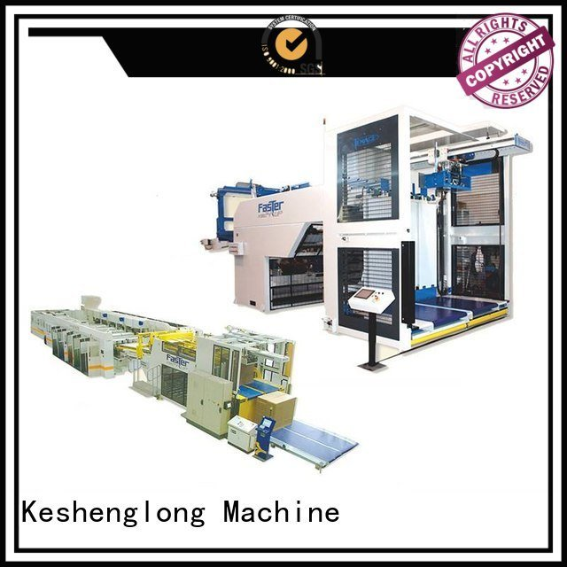 KeShengLong cardboard box printing machine PFA six color Top
