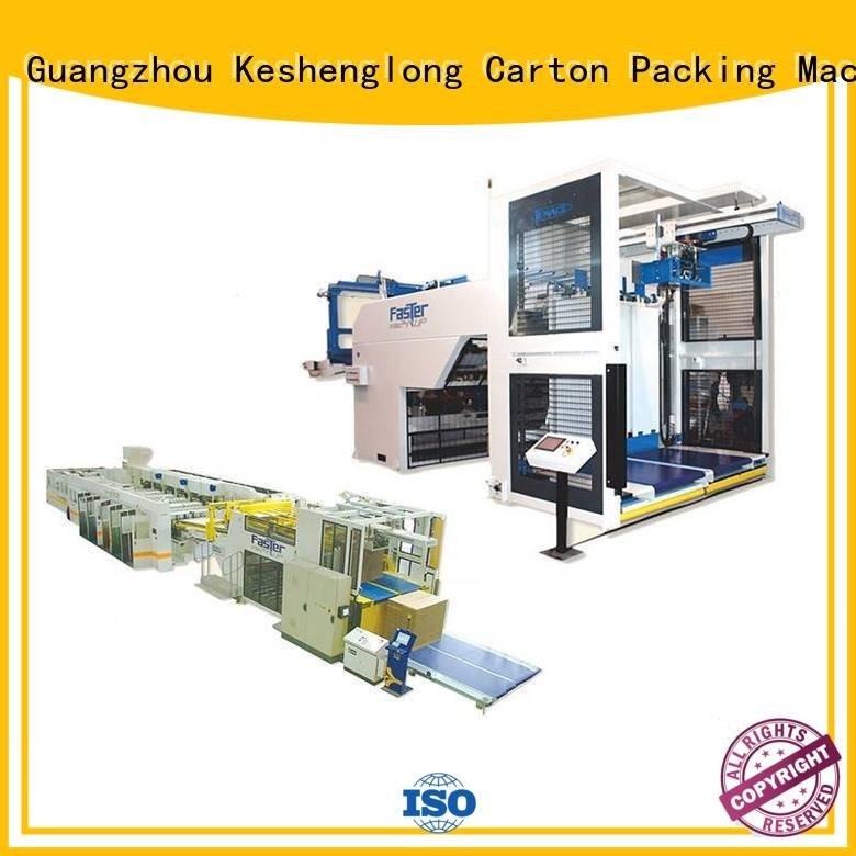 pfa stacker KeShengLong cardboard box printing machine