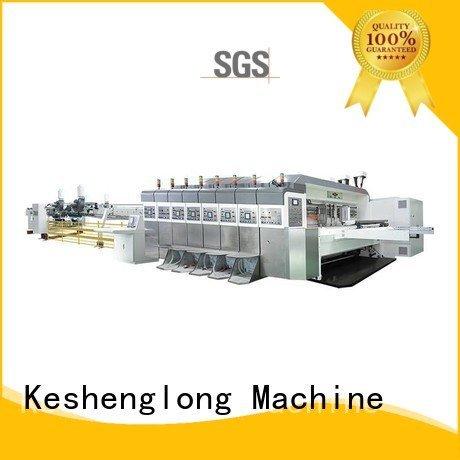 folding die slotting China hd flexo KeShengLong