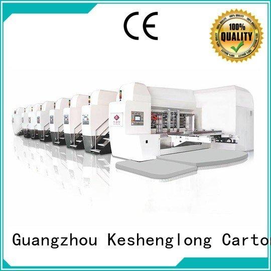 Hot China hd flexo flexo HD flexo printer slotter movable KeShengLong