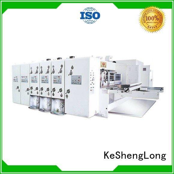 Custom automatic automatic printing slotting die cutting machine cutting flexo printing and die cutting machine