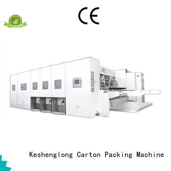 OEM automatic printing slotting die cutting machine automatic k1 flexo printing and die cutting machine