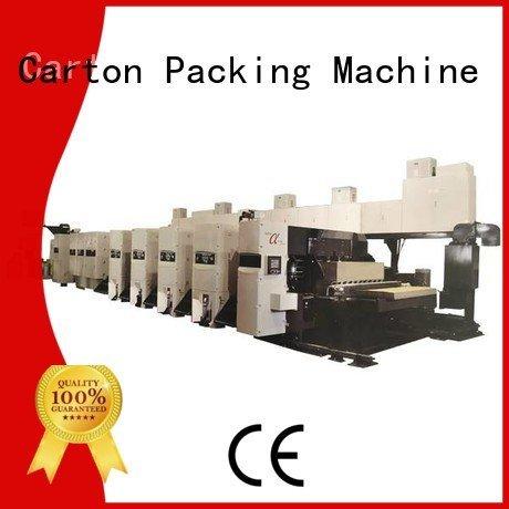 inline flexo 4 color KeShengLong flexo printer slotter