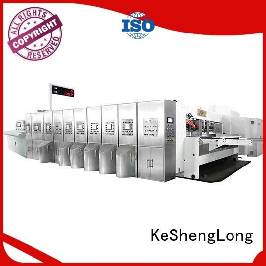 KeShengLong die HD flexo printer slotter cutting top