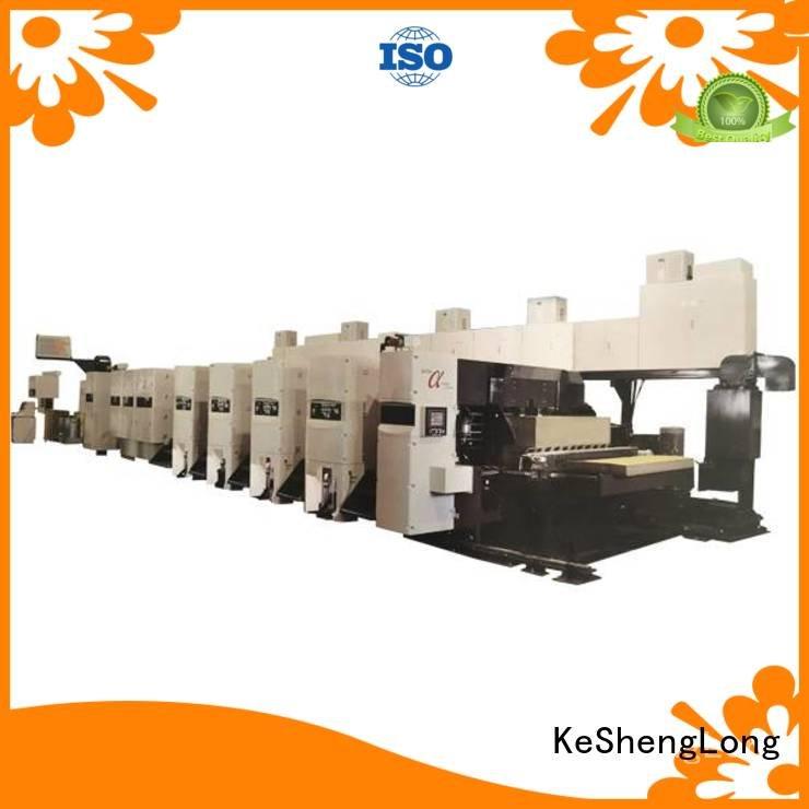 Custom flexo printer slotter machine printer shinko In-line KeShengLong
