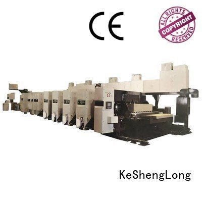 slotter shinko inline flexo printer slotter machine KeShengLong