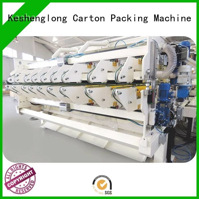 Top PFA three color cardboard box printing machine KeShengLong