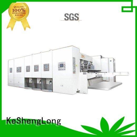 flexo automatic computerized KeShengLong flexo printing and die cutting machine