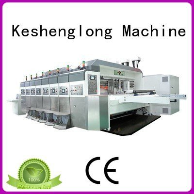 KeShengLong slotting K9-Type HD flexo printer slotter computerized structure