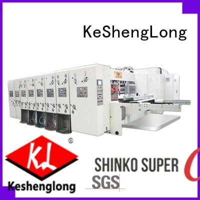 flexo printing and die cutting machine automatic cutting four color KeShengLong Brand