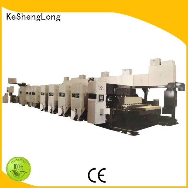 flexo printer slotter 4 color 6 color Carton flexo KeShengLong