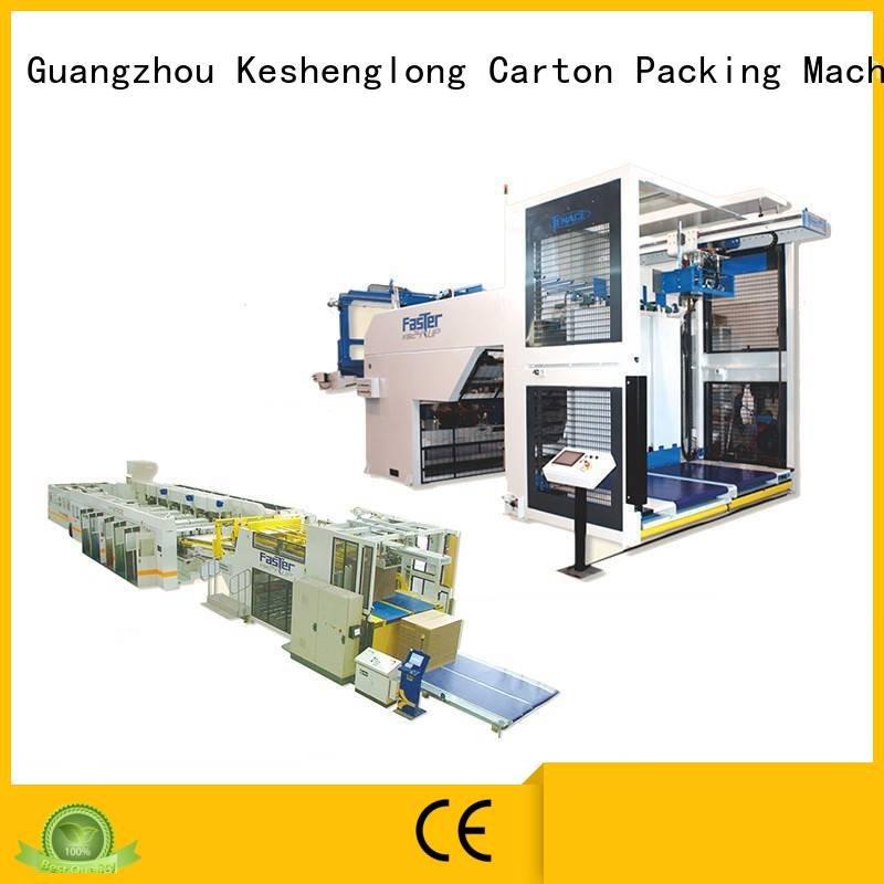 Custom four color cardboard box printing machine PFA cardboard box printing machine