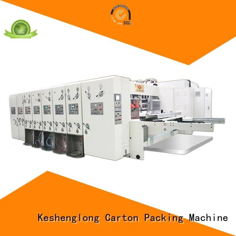 flexo printing and die cutting machine six color die KeShengLong Brand