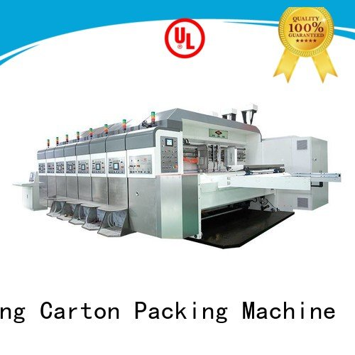 KeShengLong China hd flexo diecutting structure folding K8-Type