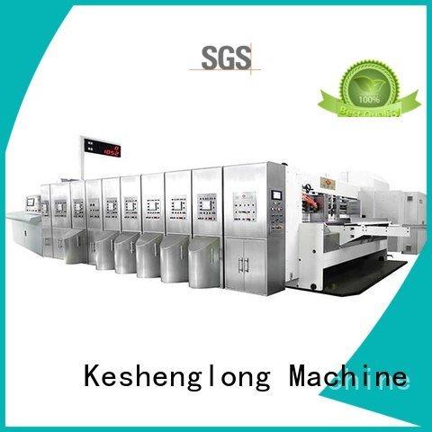 inline ejecting kl automatic KeShengLong HD flexo printer slotter