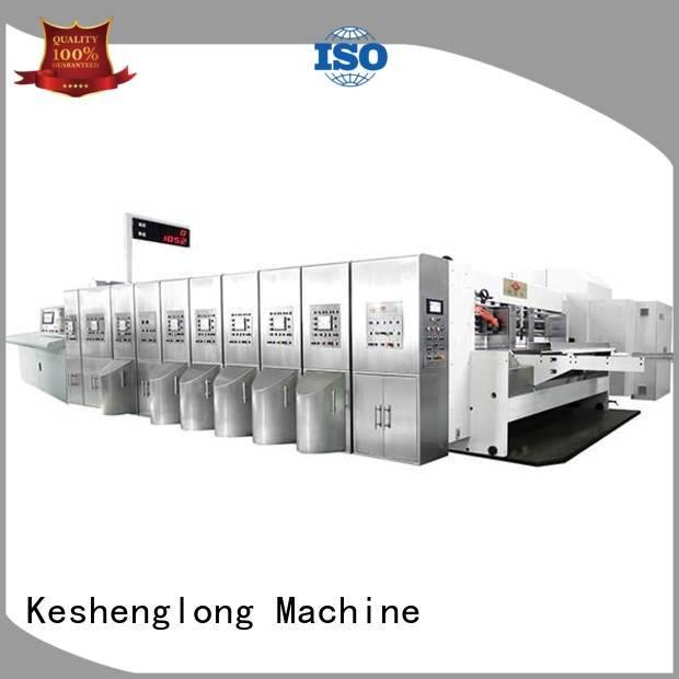 China hd flexo structure cutting OEM HD flexo printer slotter KeShengLong