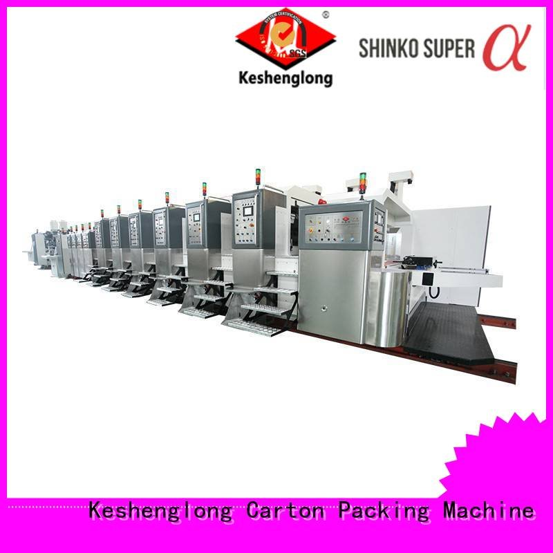 cutting flexo structure inline KeShengLong China hd flexo