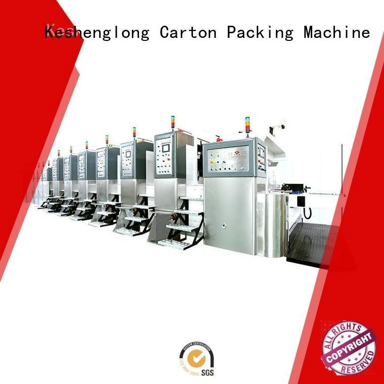 KeShengLong China hd flexo movable diecutting flexo cutting
