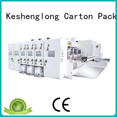 KeShengLong Brand three color flexo printing and die cutting machine jumbo die