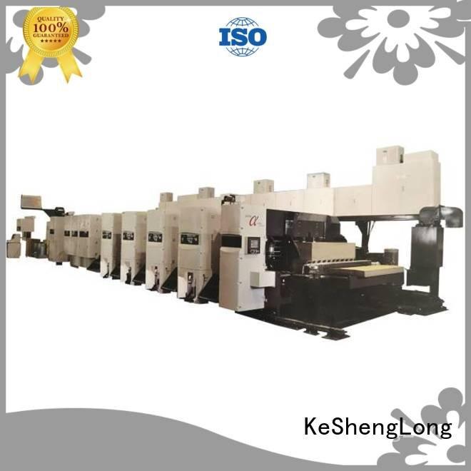 KeShengLong Brand slotter flexo printer slotter cardboard China
