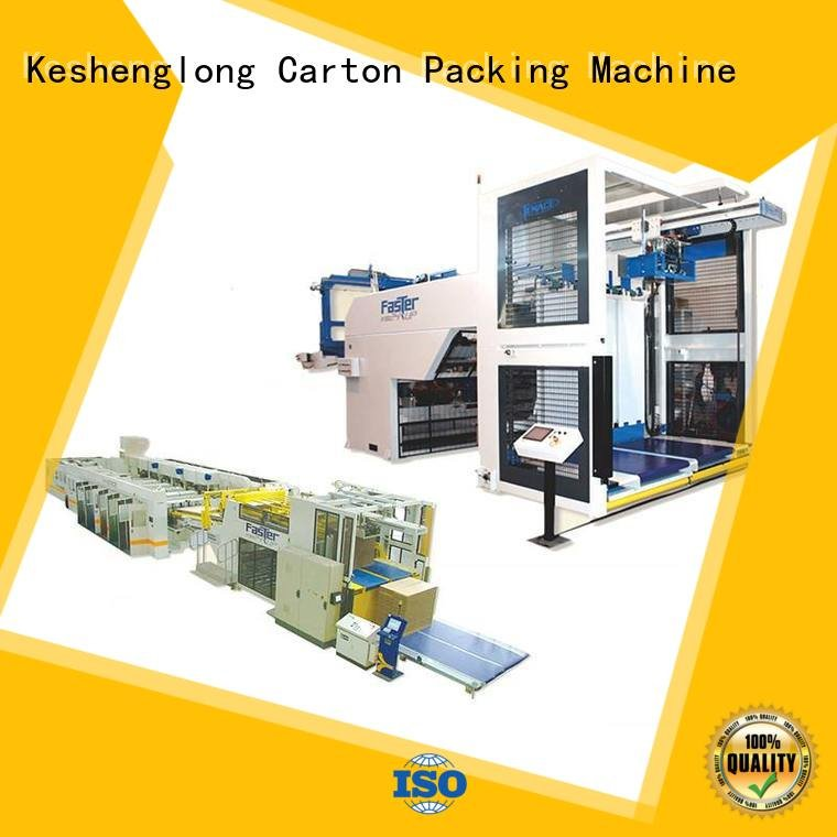 cardboard box printing machine four color Top cardboard box printing machine KeShengLong Brand