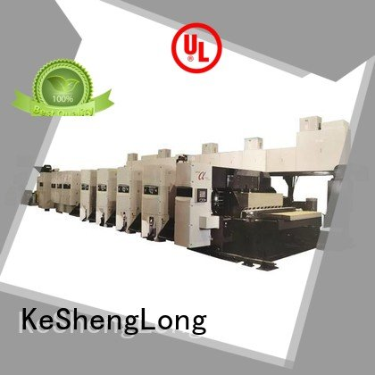 KeShengLong flexo printer slotter machine diecutter flexo 4 color slotter