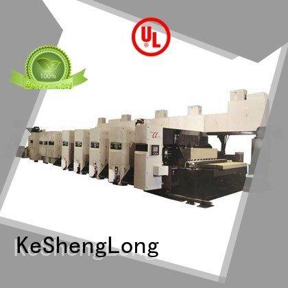 KeShengLong flexo printer slotter machine diecutter flexo 4 color slotter