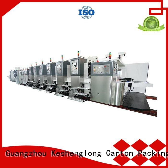 diecutting automatic gluing KeShengLong China hd flexo