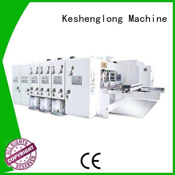 KeShengLong cutting jumbo six color flexo printing and die cutting machine die