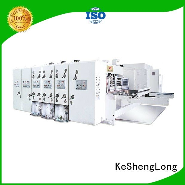 three color printing flexo printing and die cutting machine KeShengLong