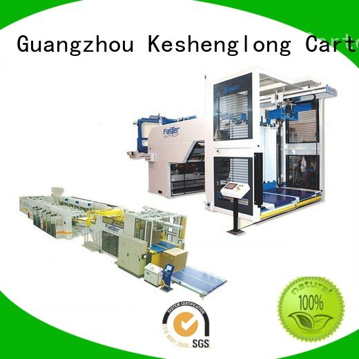 cardboard box printing machine Auxiliary cardboard box printing machine six color KeShengLong