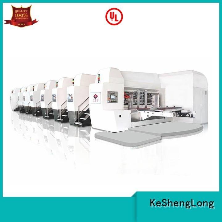 KeShengLong HD flexo printer slotter machine type flat cutting