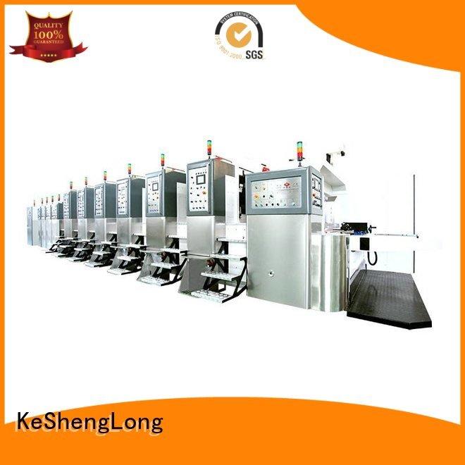 China hd flexo ejecting HD flexo printer slotter movable KeShengLong